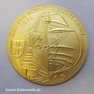 Aureus Magnus X Dukat Aurum Germania 1956
