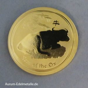 Australien 1 oz Gold 2009 Lunar II Year of the Ox