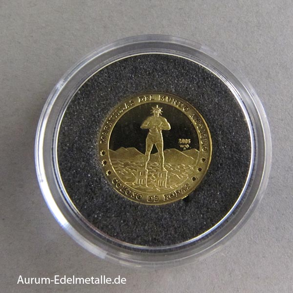 Cuba Goldmünzen 7 Weltwunder der Antike