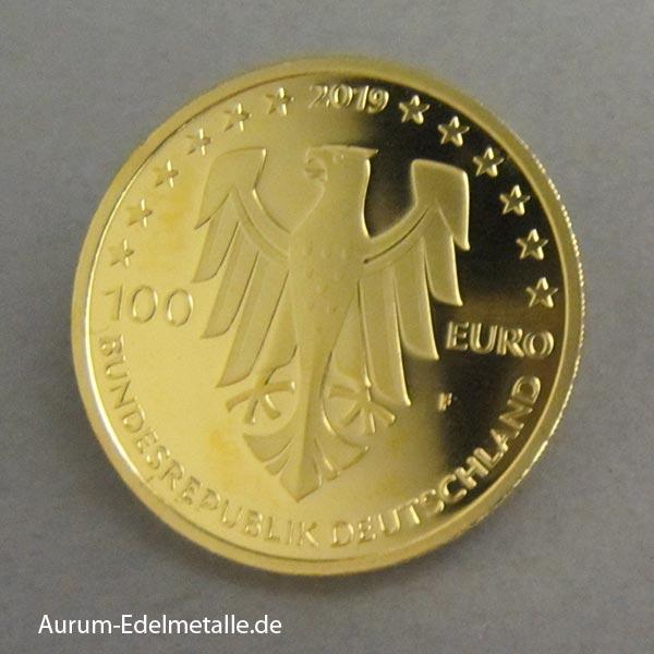 Deutschland 100 Euro UNESCO Dom zu Speyer 2019
