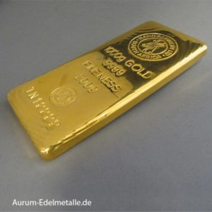 Goldbarren 1000g Rand Refinery South Africa