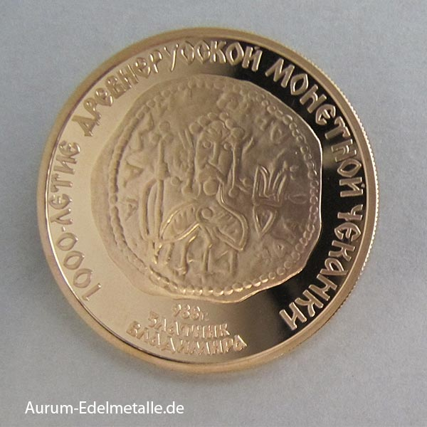 Goldmünze 100 Rubel 1988 Zlatnik