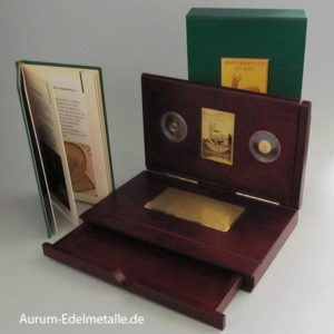Liberien Investment Coin-Set 2005 Gold 99999