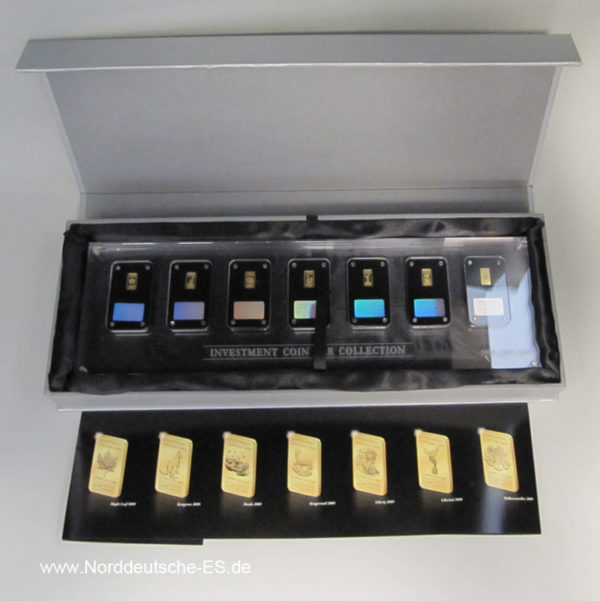 Malawi Investment Coin Bar Collection 2009 Goldbarren