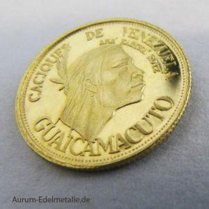 Caciques de Venezuela Gold Guaicamacuto