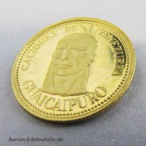 Caciques de Venezuela Gold-Medaille Guaicaipuro