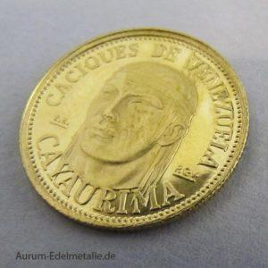 Caciques de Venezuela Goldmedaille Cayaurima