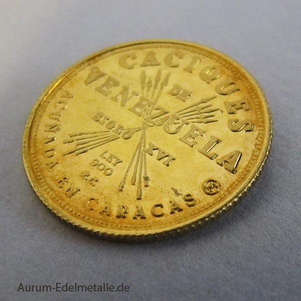 Caciques de Venezuela Gold-Medaille Caracas