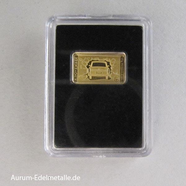 Goldbarren Trabant 30 Jahre Mauerfall