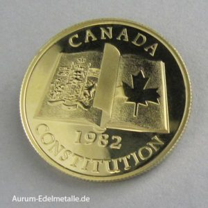 Goldmünze 100 Dollars 1982 Constitution