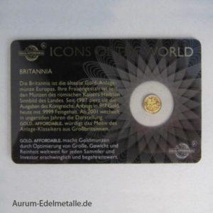 Icons of the World Ruanda Britannia 2015