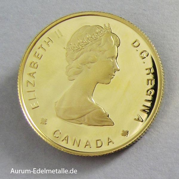 Kanada 100 Dollars Gold Elizabeth II