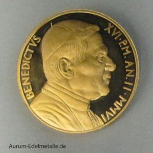 Vatikan 50 Euro 2006 Die Firmung Benedictus