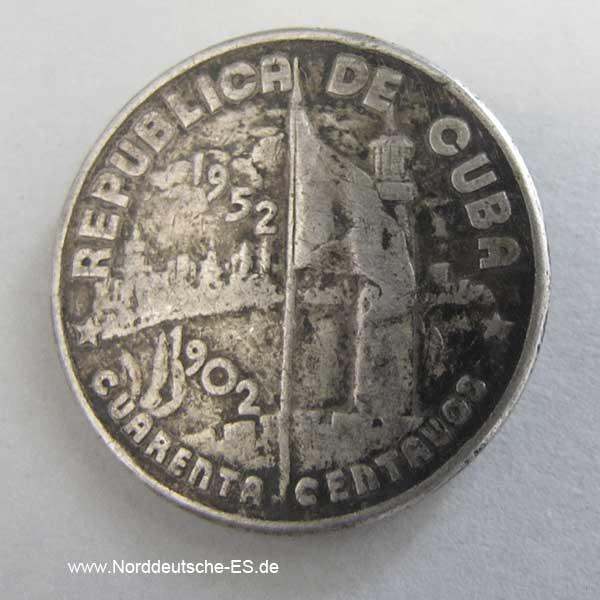Cuba-40-Centavos-1952