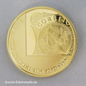 Portugal 5 Euro Goldmünze 2003
