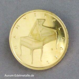 50 Euro Goldmünze 2019 Hammerflügel