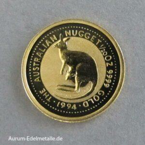 Australien Kanagroo Nugget 1_20 oz 1994