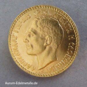 Jugoslawien 20 Dinar Alexander I 1925