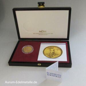 USA 20 Dollars Gold St. Gaudens Double Eagle Zertifikat in Etui