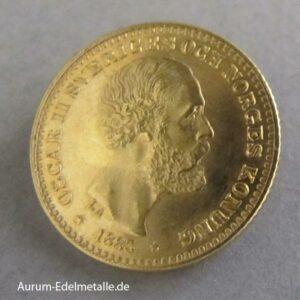 10 Kronen Schweden Oscar II 1883