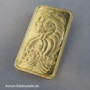 Goldbarren 20 g PAMP Suisse Fortuna