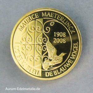 Belgien 50 Euro Der Blaue Vogel 2008
