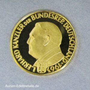 Aureus Magnus 1 Dukat Ludwig Erhard 1963