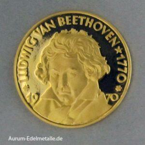 Aureus Magnus 2,5 Dukat Beethoven 1968 / 1970