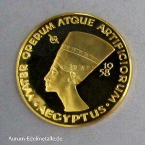 Aureus Magnus V Dukat Aegyptus 1958