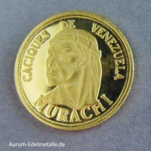 Caciques de Venezuela Gold-Medaille Murachi