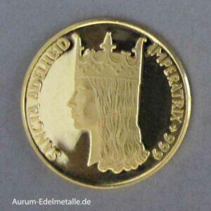 Aureus Magnus 1 Dukat 1958-1964 Sancta Adelheid 1962