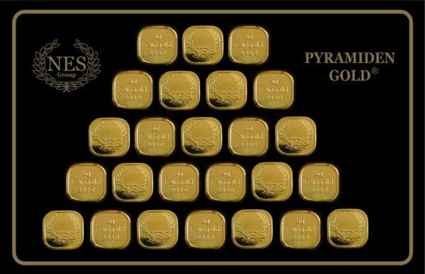 Pyramidengold 125 Gramm NES