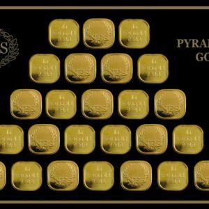 25g Pyramide Feingold 999,9 NES