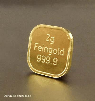 2g-Goldbarren-Feingold 999,9 NES