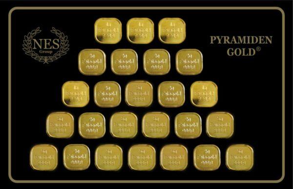 Pyramidengold 75