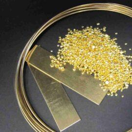 Goldhalbzeug