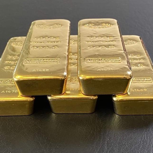1Kg Goldbarren Norddeutsche ES