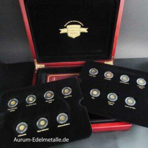 Die kleinsten Goldmünzen der Welt 2008