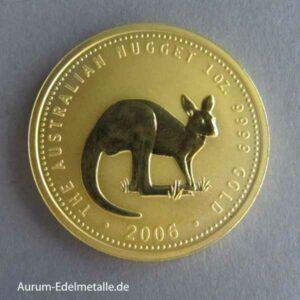 1 oz Kangaroo Nugget 2006