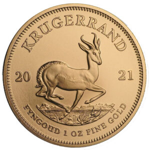 Kruegerrand 1oz_2021 Goldmuenze