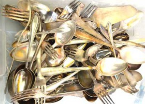 Platin Palladium Silber verkaufen - Bestecke aus massiven Silberlegierungen