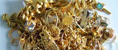 Edelmetalle verkaufen Goldschmuck gemischt