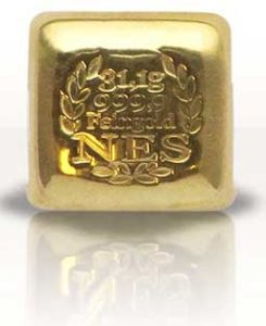 Aurum Edelmetalle NES-1Unze-Goldbarren-31_1g-Feingold-9999