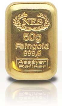 Norddeutsche-ES-50g-Goldbarren-Feingold-9999