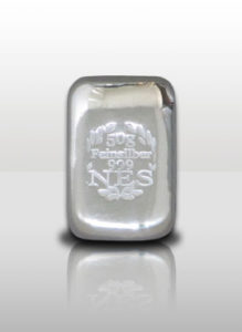 Norddeutsche 50g Silberbarren 9999