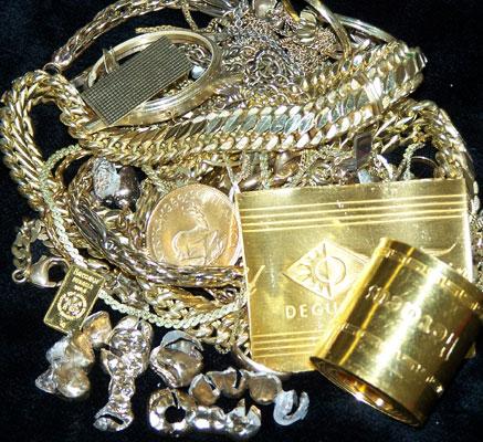 Wir kaufen Ihren Goldschmuck