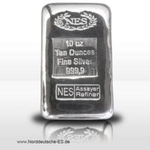 norddeutsche-es-10oz-silberbarren-9999-gussbarren-zertifikat