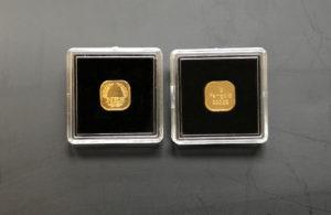 Goldbarren 1g,2g,5g, Superfeingold 99,999 NES