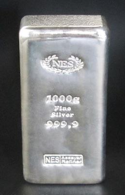 1Kg Feinsilber 999,9 NES