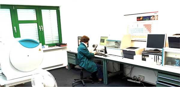 Labor I für Röntgenanalytik